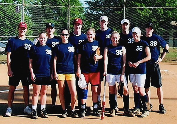 softball intramural team