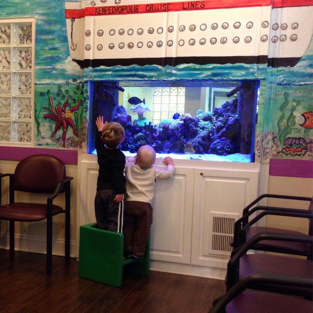 boys doctor aquarium