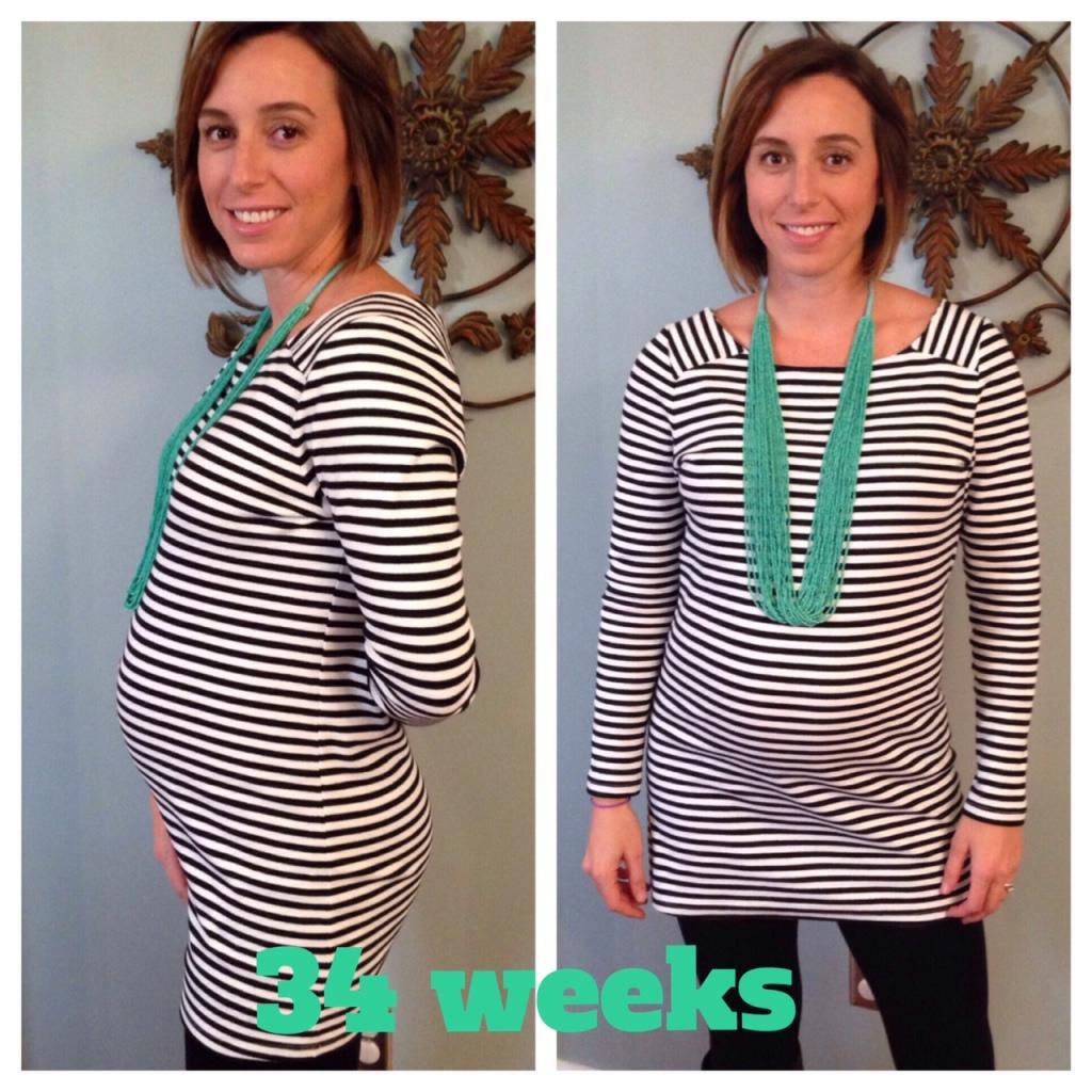 34 week bump