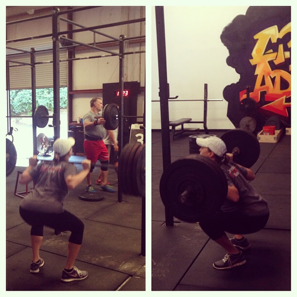 crossfitting 8 months pregnant