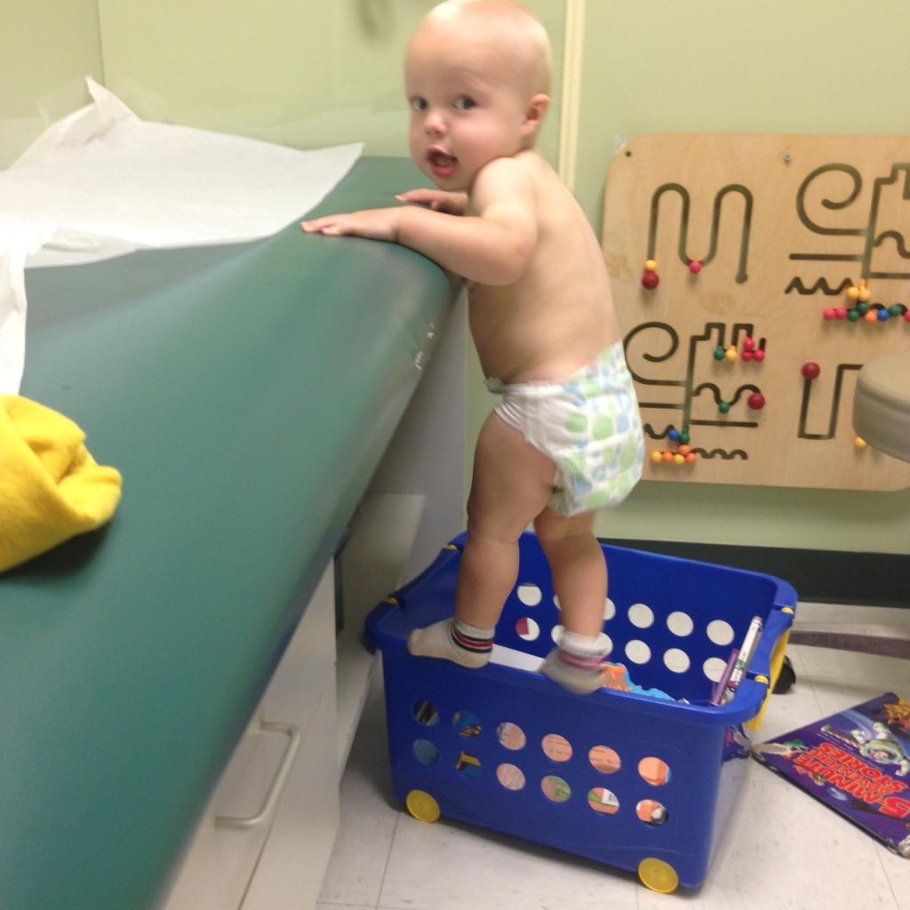 beau 15 month checkup