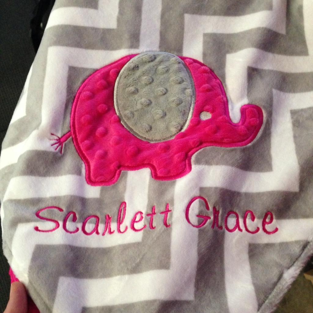 scarlett blanket