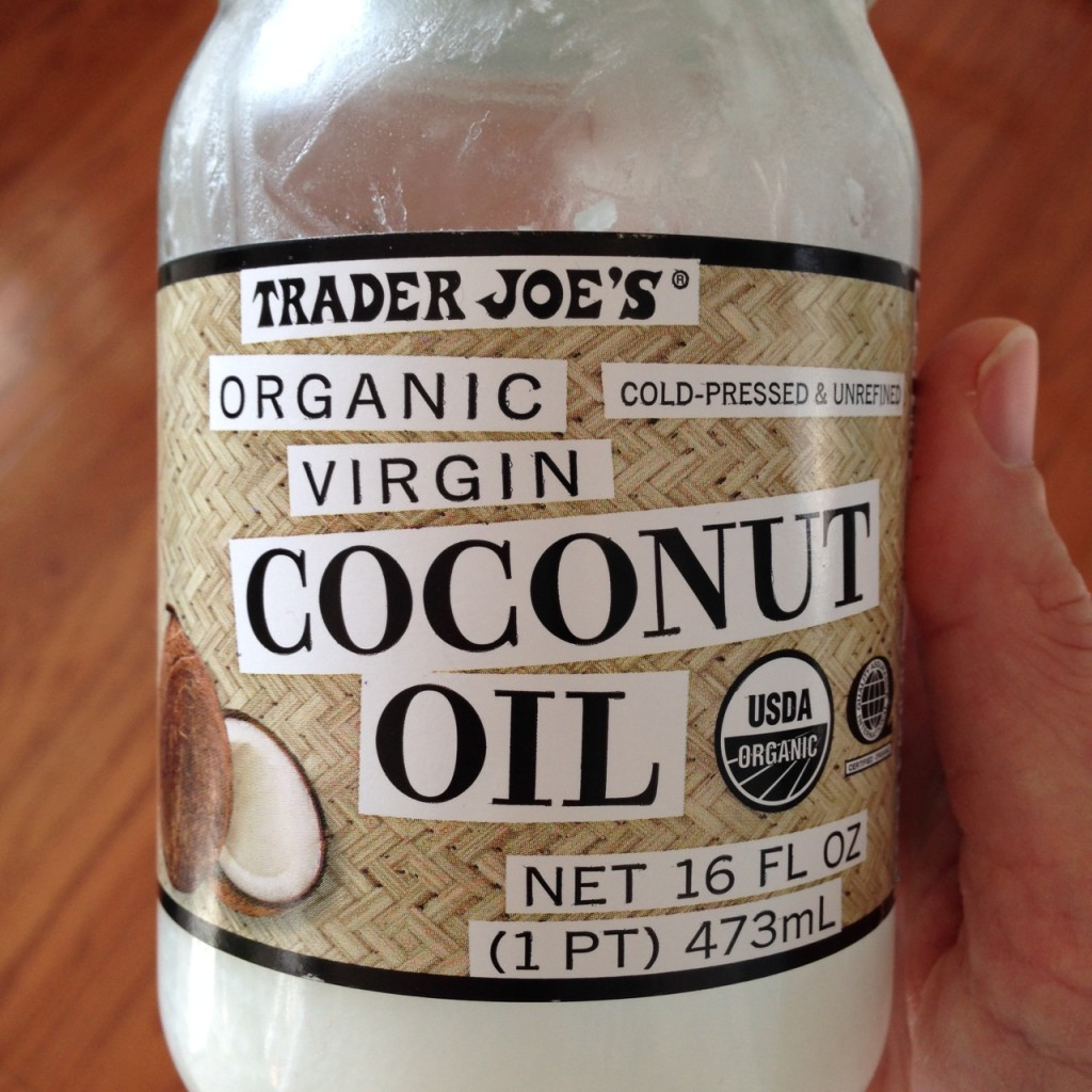 TJ coconut oil