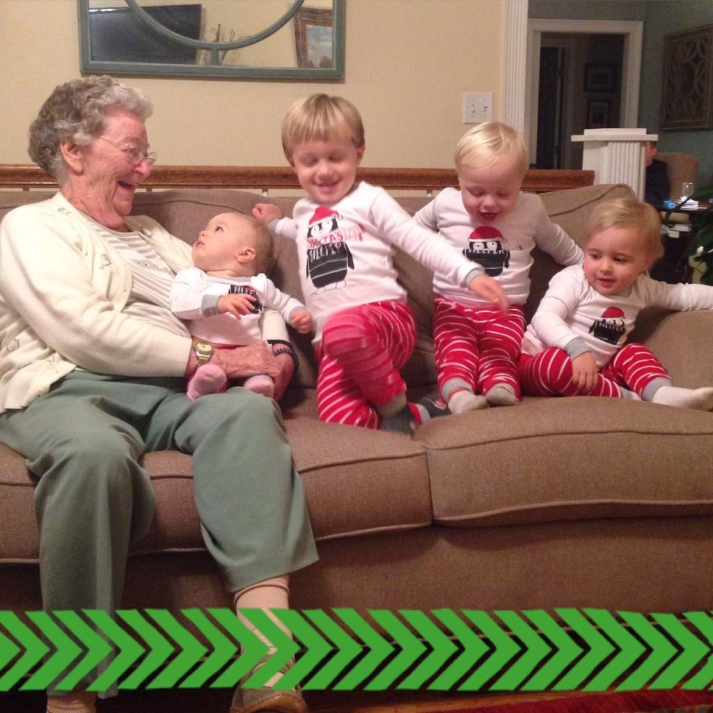 great grandma 4 kids