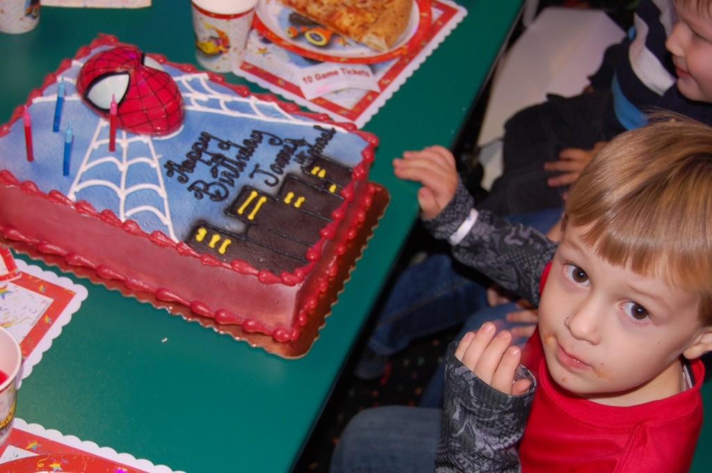jm fourth birthday cake