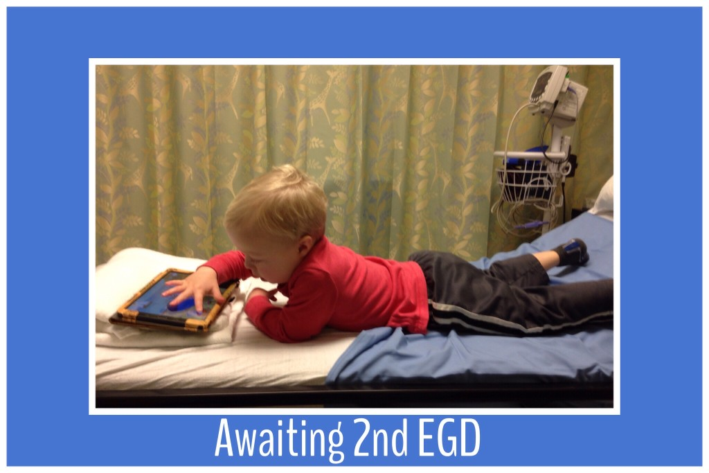 waiting for 2nd EGD