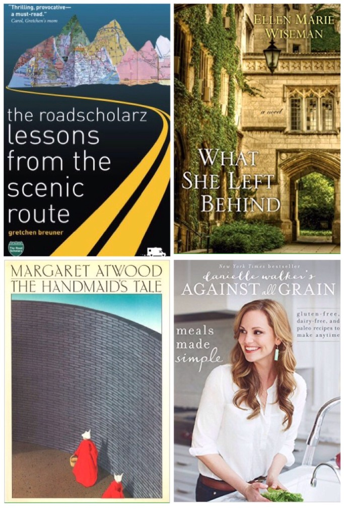 roadscholarz, what she left behind, the handmaid's tale, meals made simple
