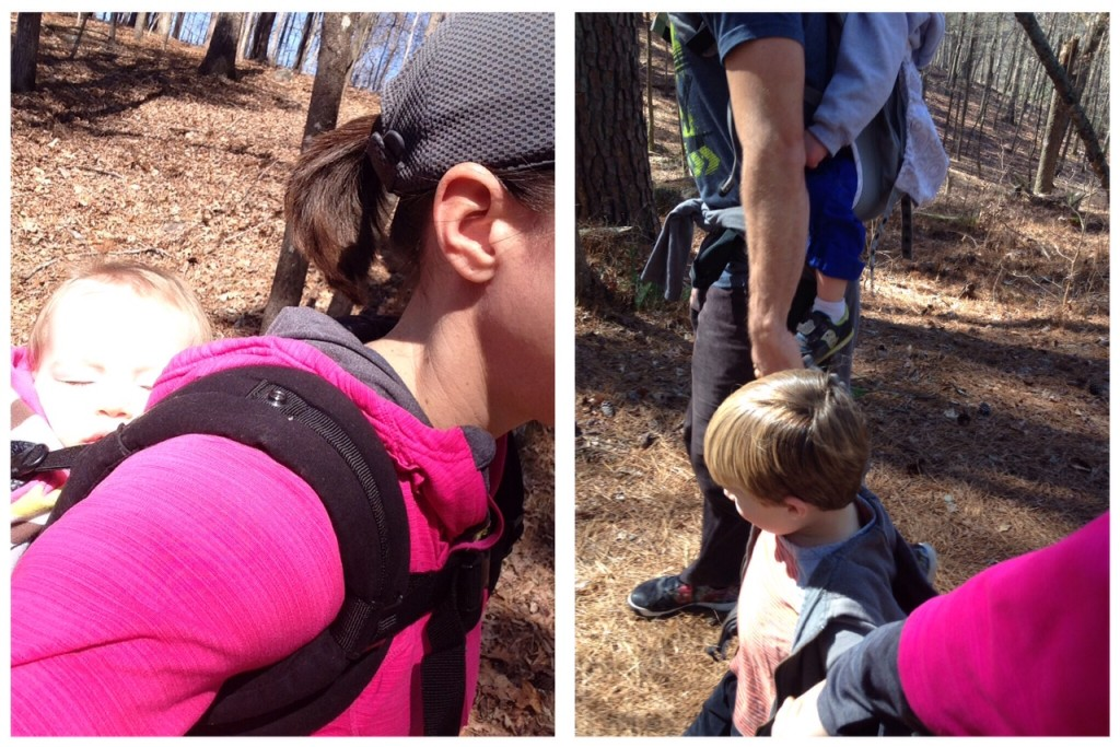 family hike iron hill trail