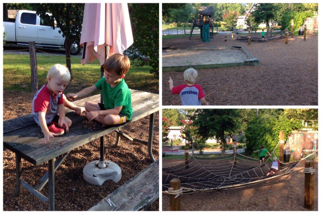 west chattanooga KOA playground