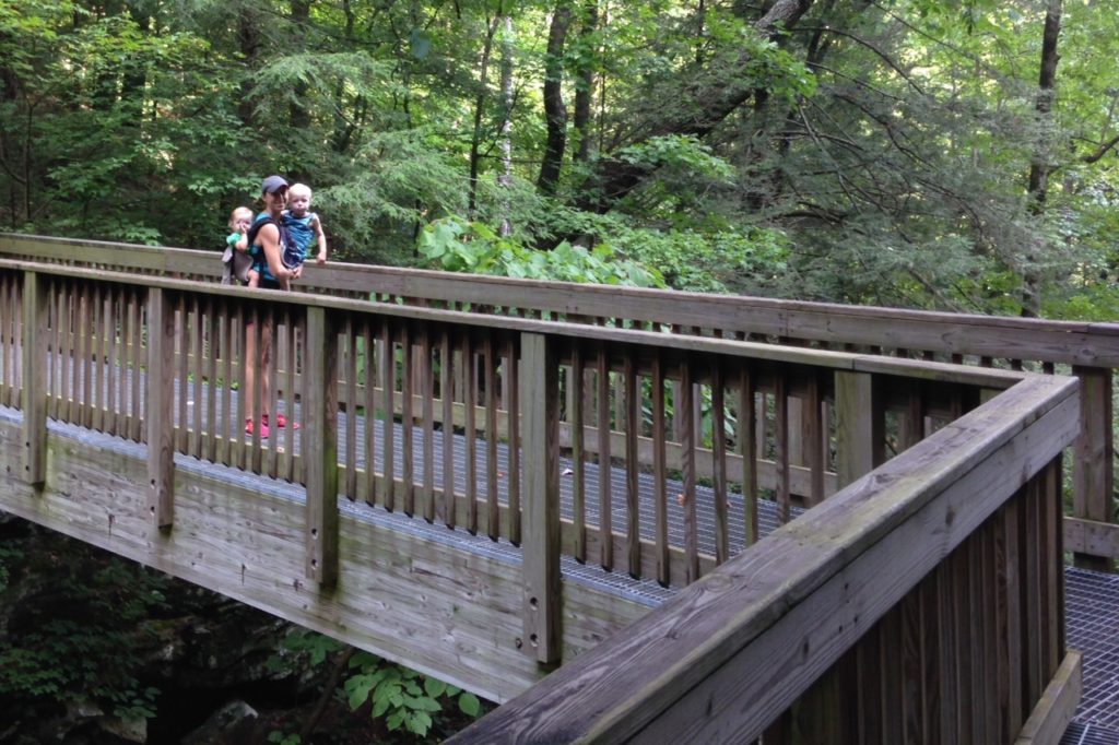 cloudland canyon with kids 2