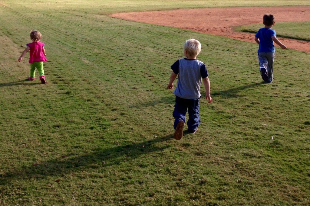 kids open field