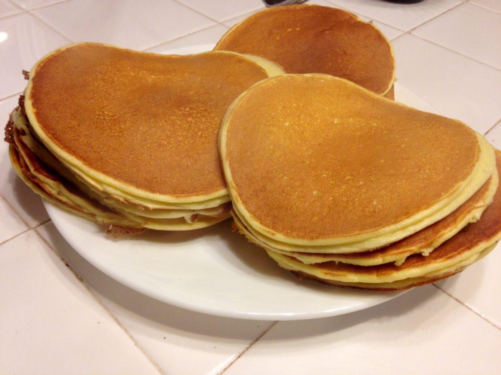 three ingredient blender pancakes gluten free