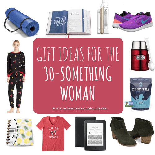 20 Gifts For The 30 Something Woman Hobson Homestead