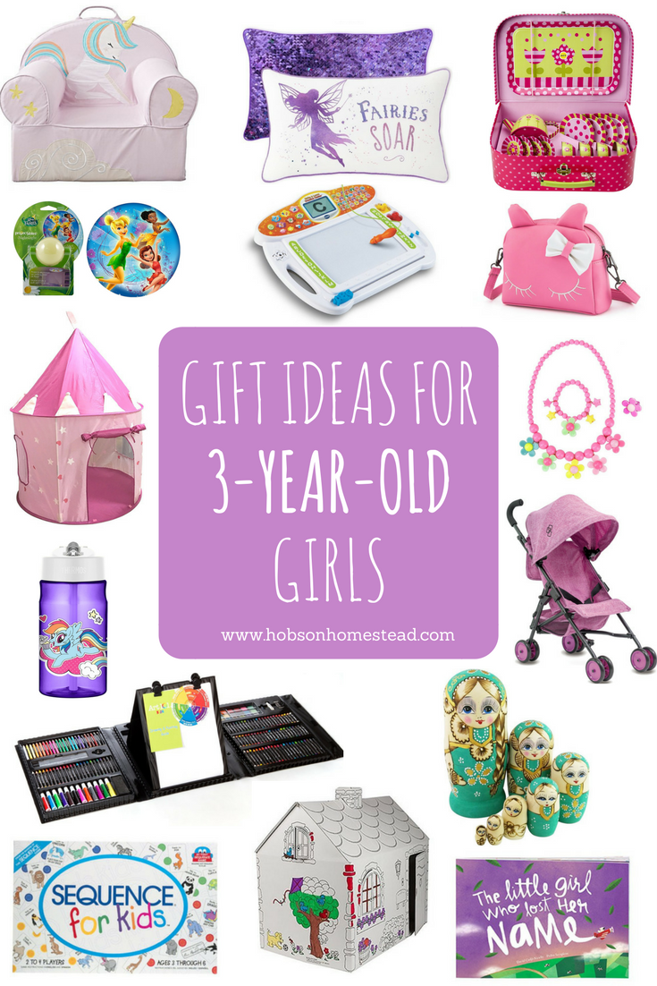 gifts for three year old girls