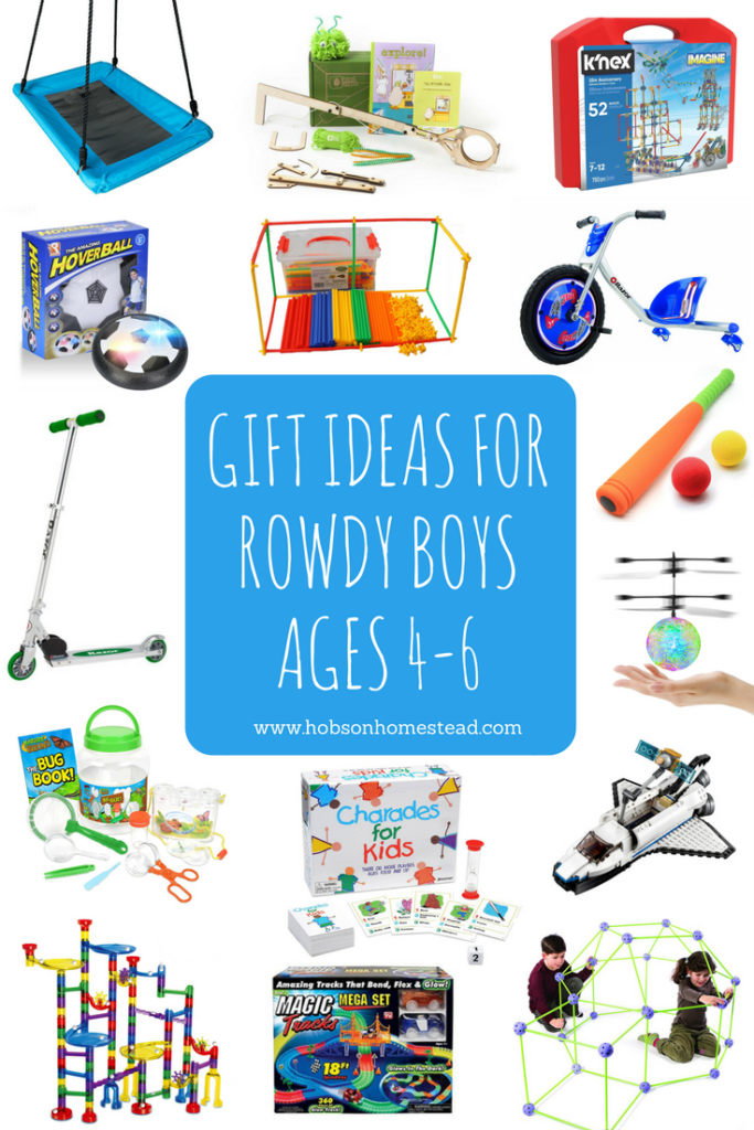 gift ideas for boys ages 4-6