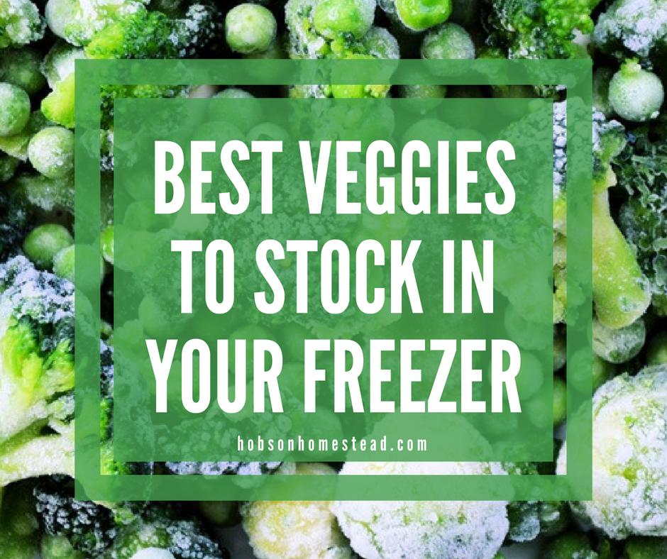 Best Veggies to Stock in Your Freezer, frozen vegetables