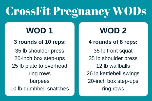 CrossFit Pregnancy WODs, crossfit mom wod