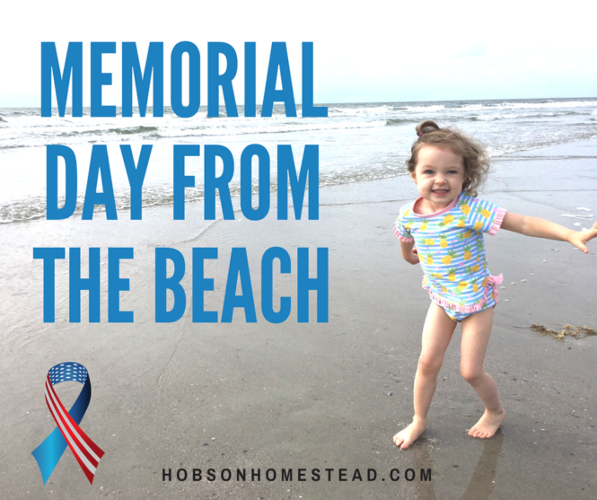 Memorial Day from The Beach