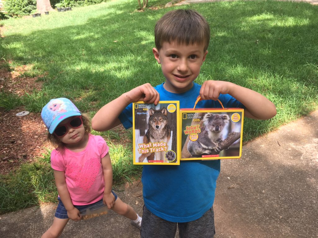 national geographic kids sight words books