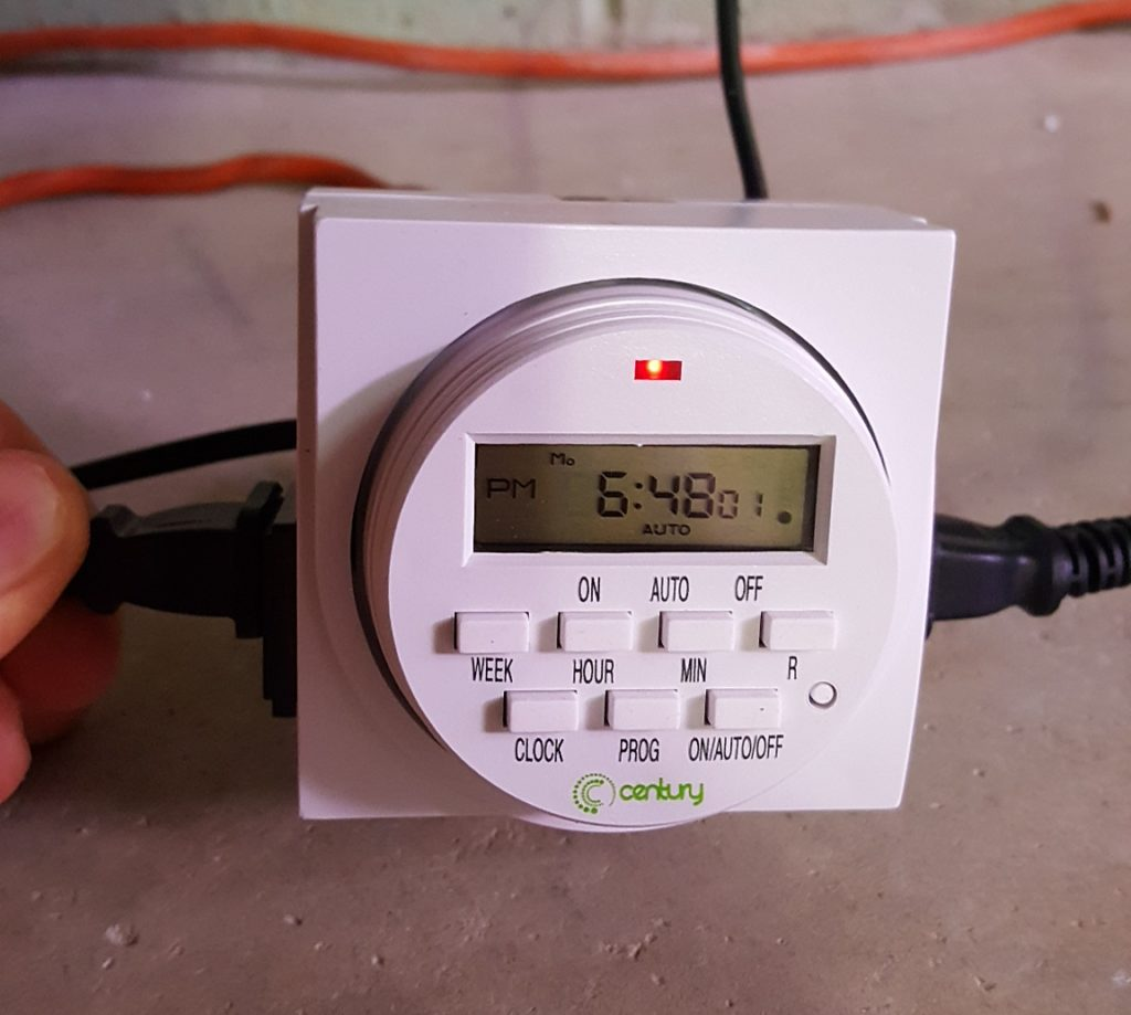 timer for hydroponics