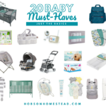 20 Baby Must-Haves: Just the Basics