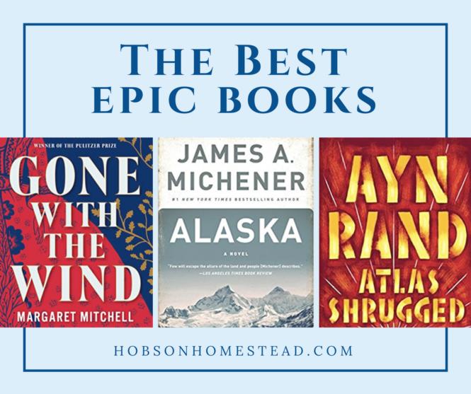 best epic books
