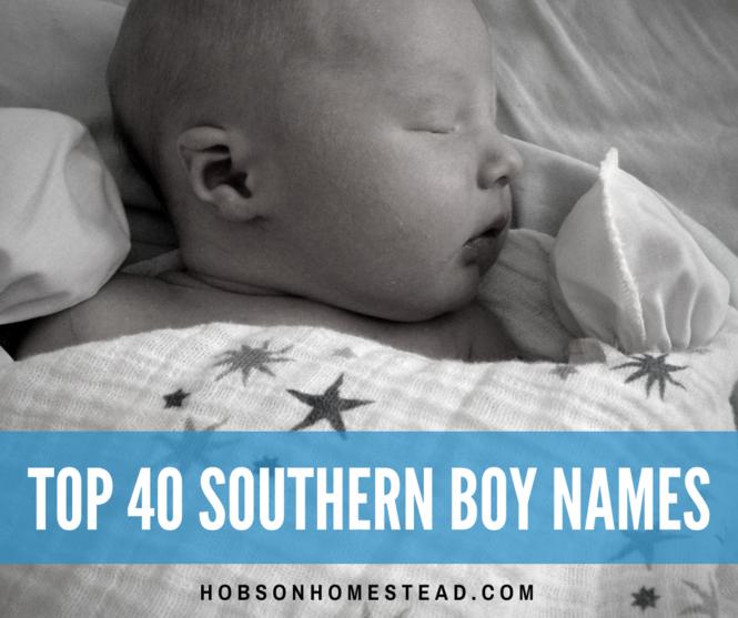 southern boy names