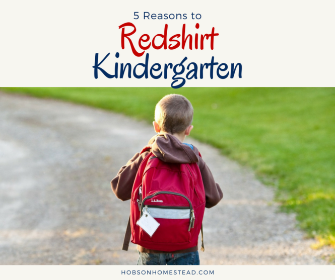 redshirt kindergarten