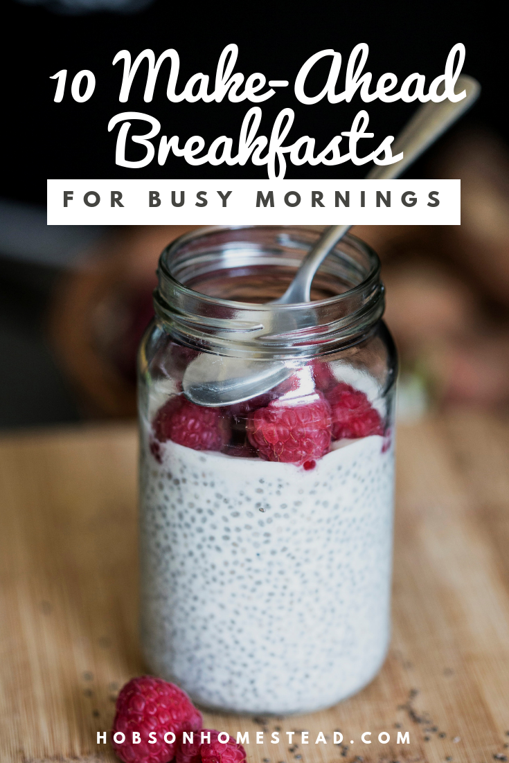 make-ahead breakfasts