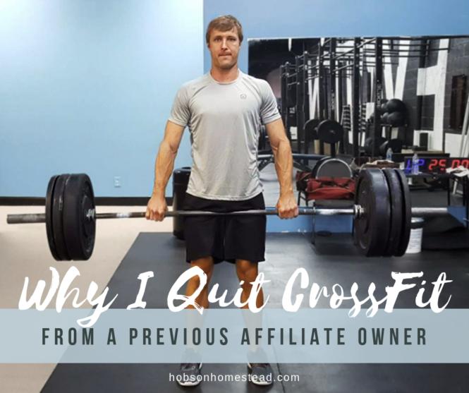 quit crossfit
