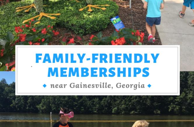 family friendly memberships near Gainesville, Georgia