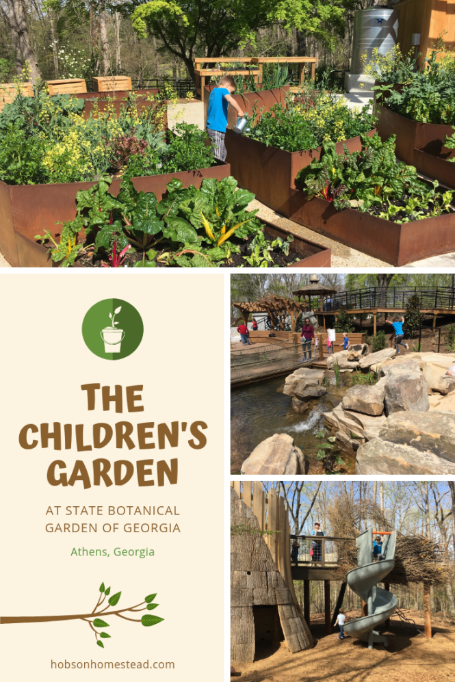 The Children's Garden at State Botanical Gardens of Georgia