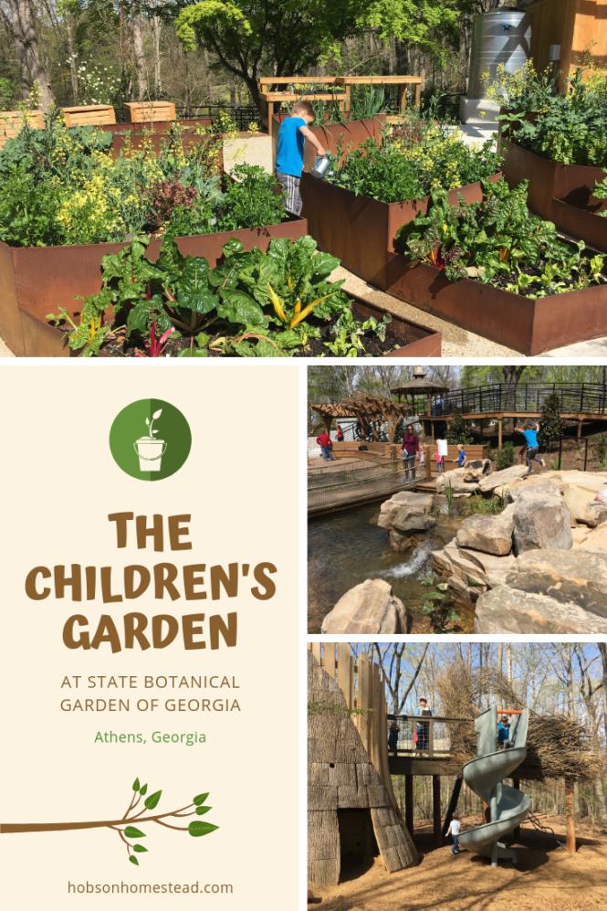 The Children's Garden at State Botanical Gardens of Georgia