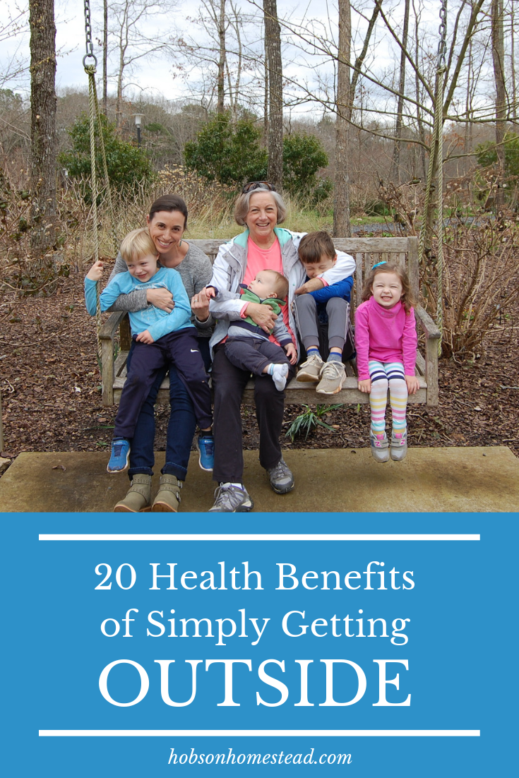 20 Health Benefits of Simply Getting Outside