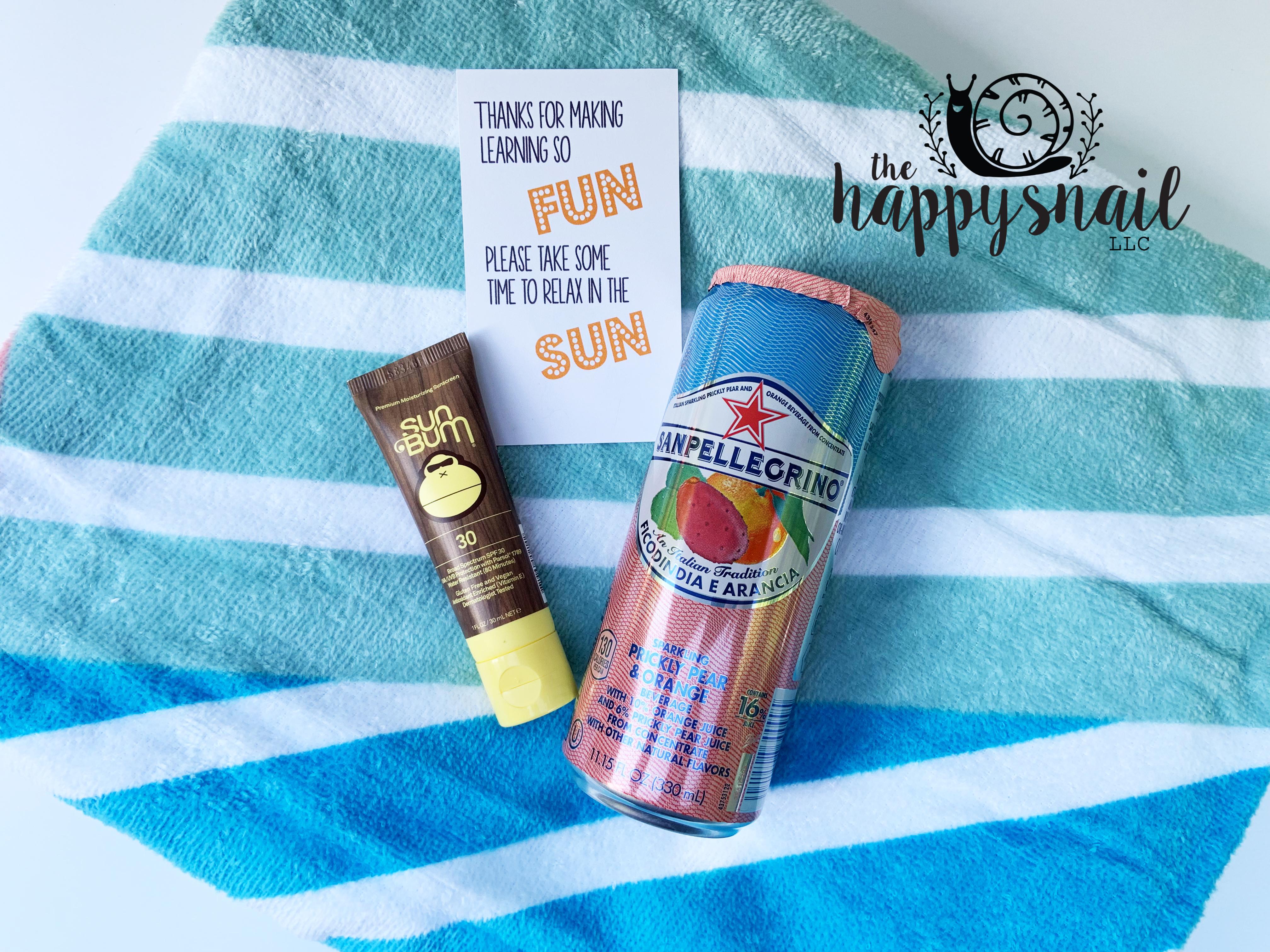 fun in the sun The Happy Snail