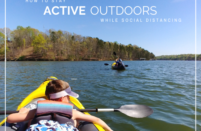 How to stay active while social distancing