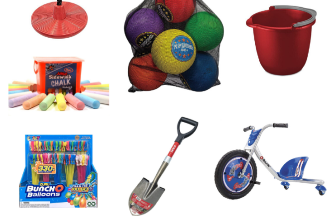 favorite outdoor summer toys for kids
