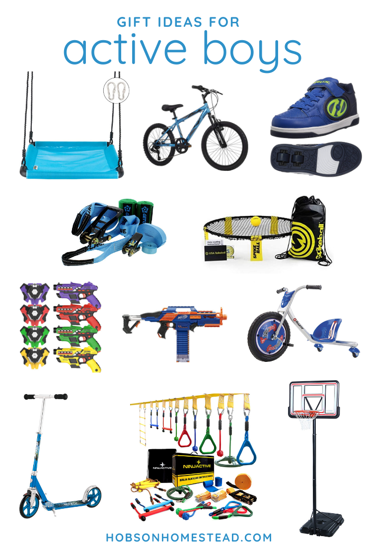 gifts for active boys
