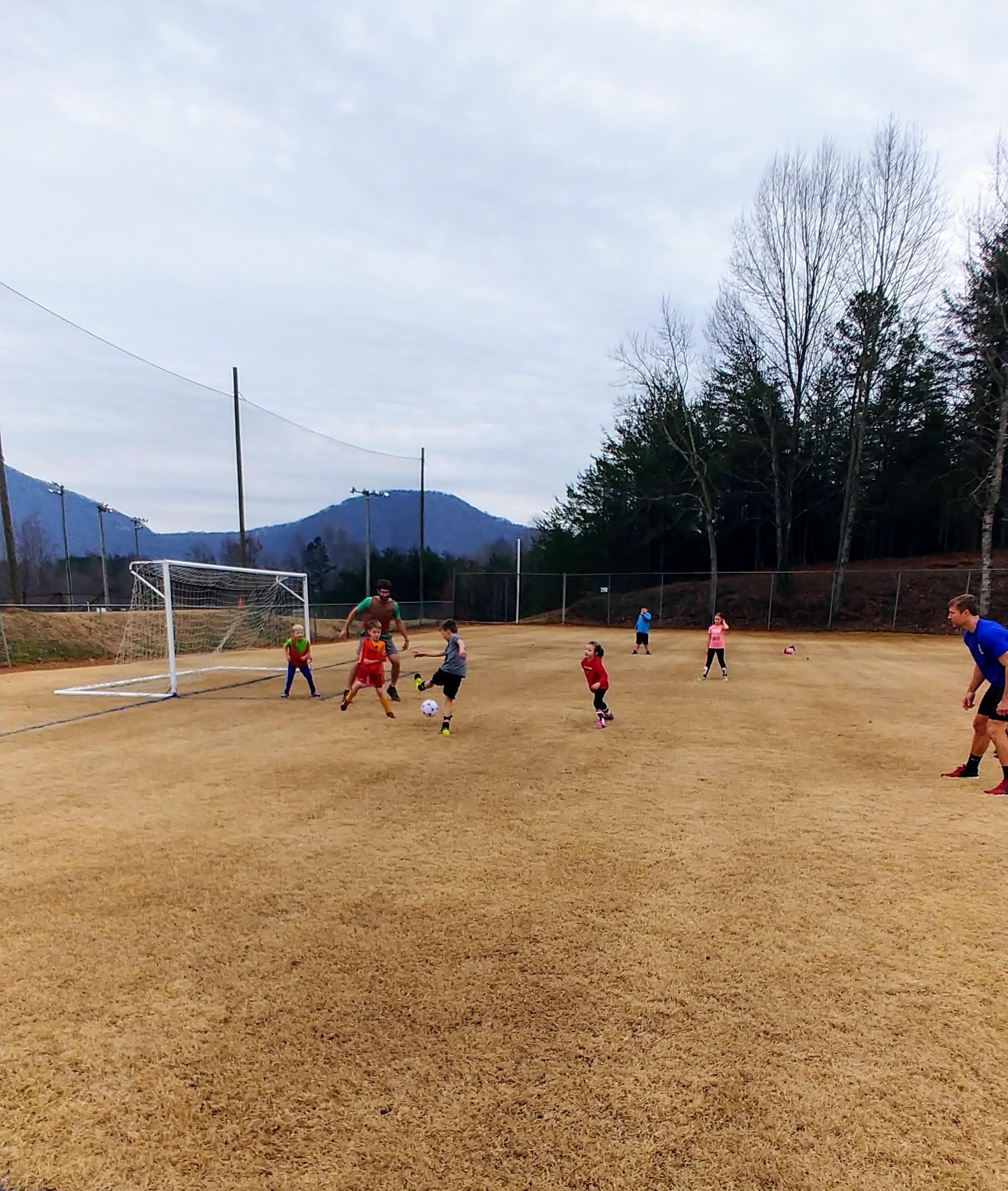 pop-up soccer game, goals for 2021