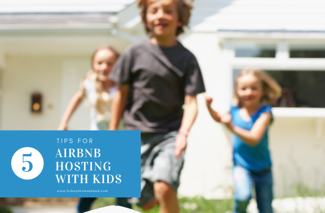 airbnb hosting with kids