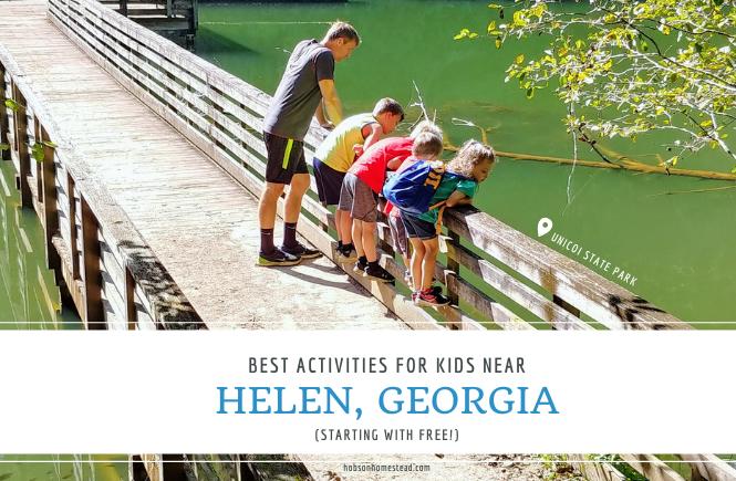 best kid activities near Helen, Ga