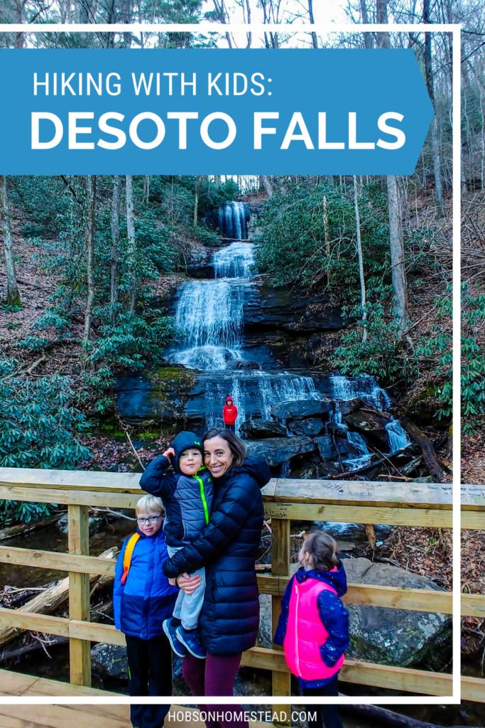 desoto falls hiking with kids
