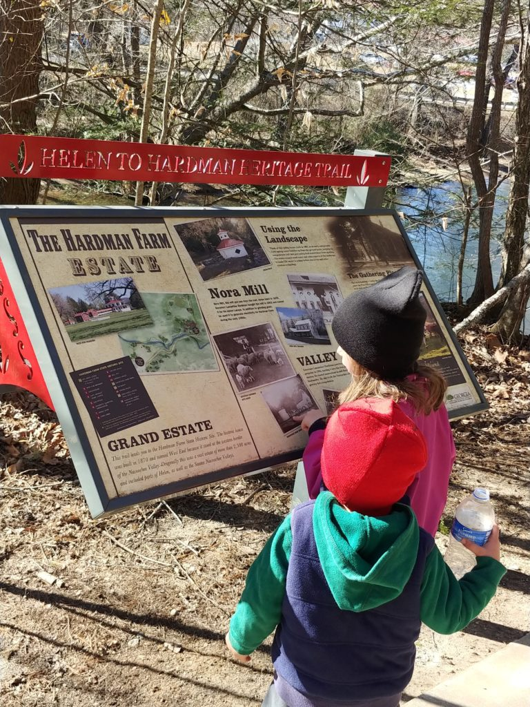 free things to do in Helen, Georgia. Helen to Hardman Heritage trail