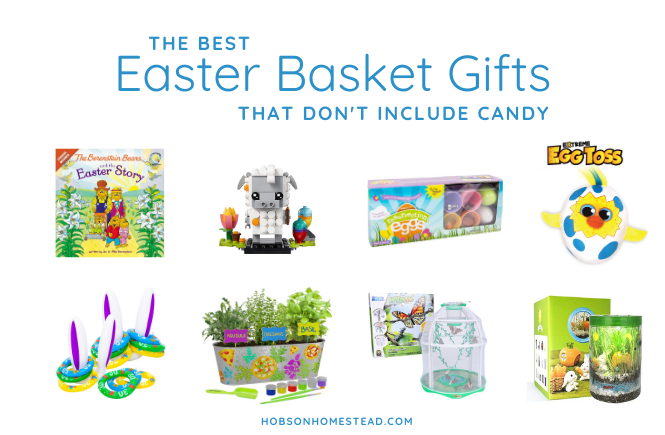Easter Basket Gifts that don't include candy