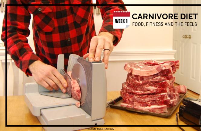 Carnivore Diet Week 1