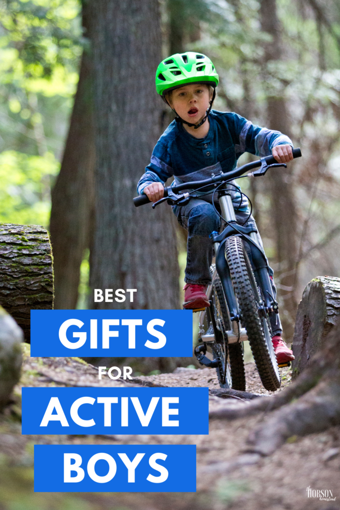 best gifts for active boys