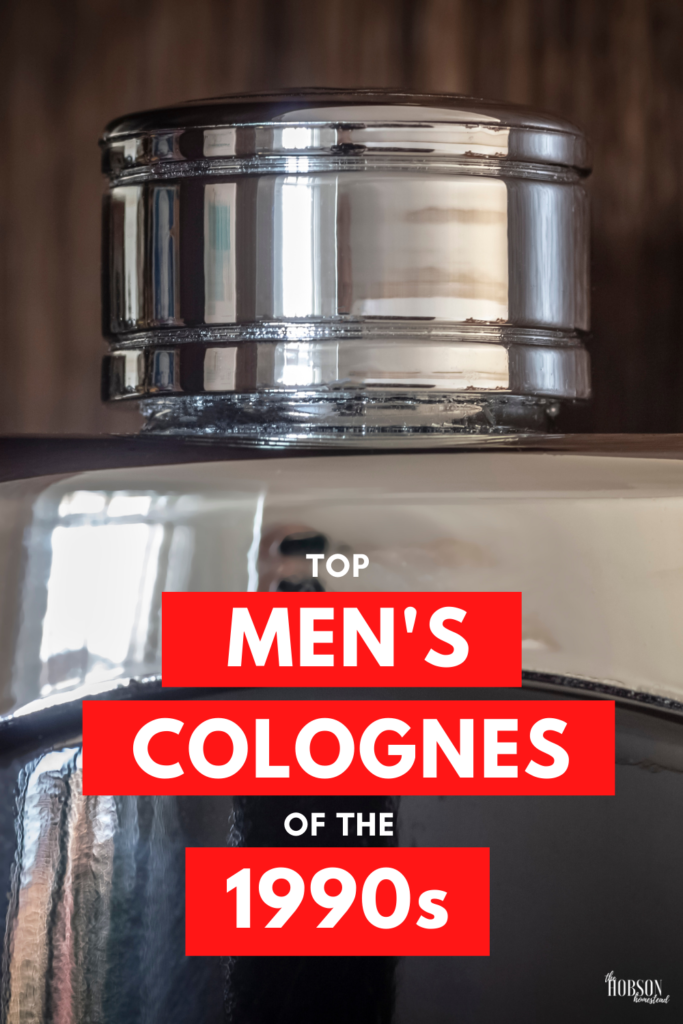 best men's colognes of the 1990s