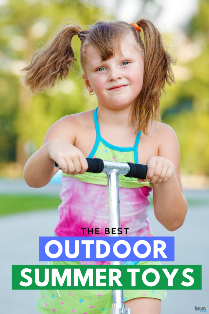 best outdoor summer toys for kids