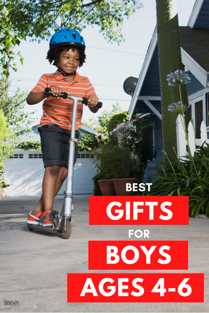 best gifts for boys ages 4-6