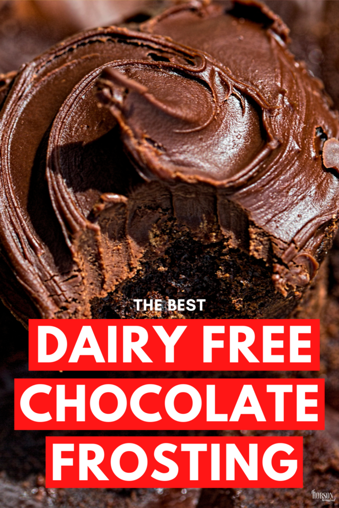 The best dairy free chocolate coconut cream frosting